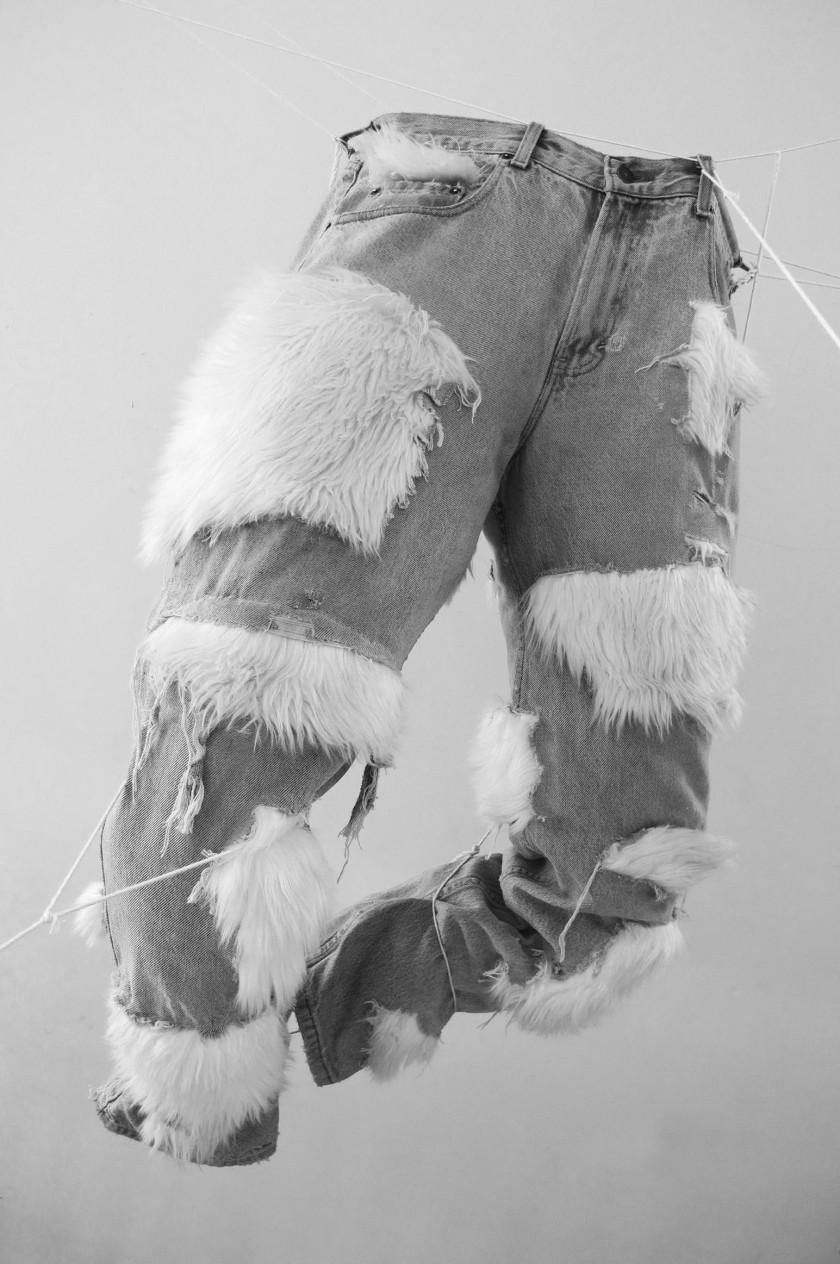 fuzzy pants